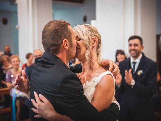Il matrimonio di Valerio e Isabella a Civitavecchia, Roma 45