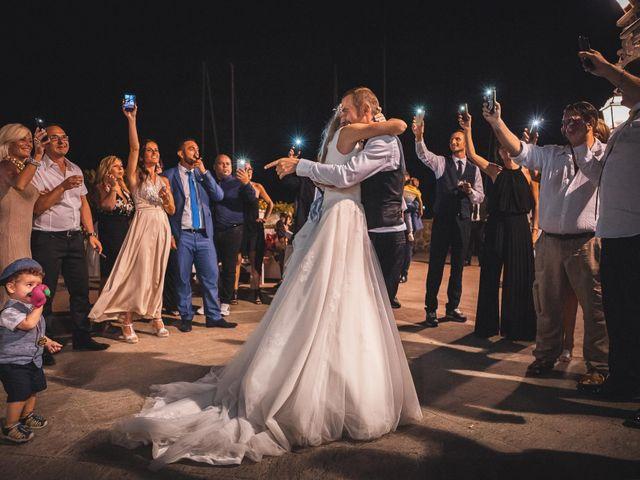 Il matrimonio di Valerio e Isabella a Civitavecchia, Roma 73