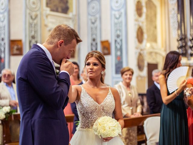 Il matrimonio di Maura e Riccardo a Angera, Varese 16