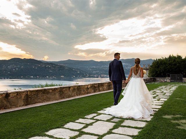 Il matrimonio di Maura e Riccardo a Angera, Varese 21