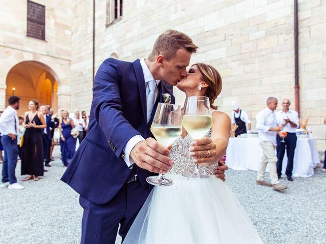 Il matrimonio di Maura e Riccardo a Angera, Varese 23