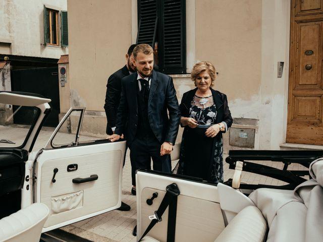Il matrimonio di Gezim e Giada a Firenze, Firenze 41
