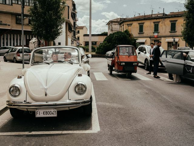 Il matrimonio di Gezim e Giada a Firenze, Firenze 47