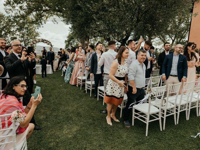 Il matrimonio di Gezim e Giada a Firenze, Firenze 61