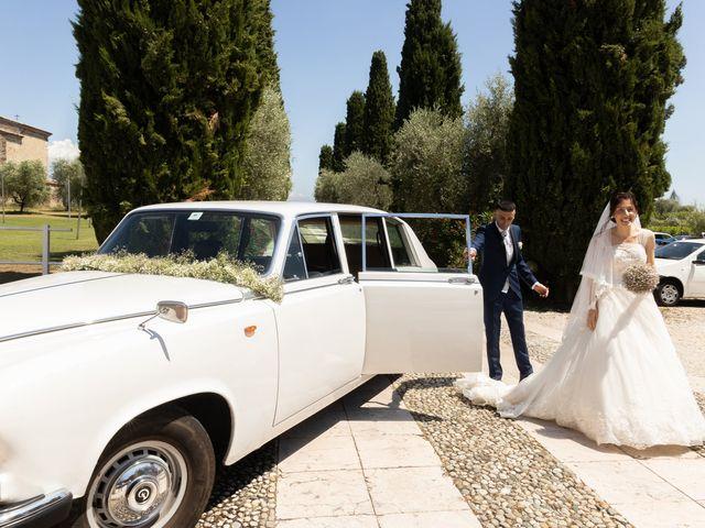 Il matrimonio di Jennifer e Paolo a Polpenazze del Garda, Brescia 29