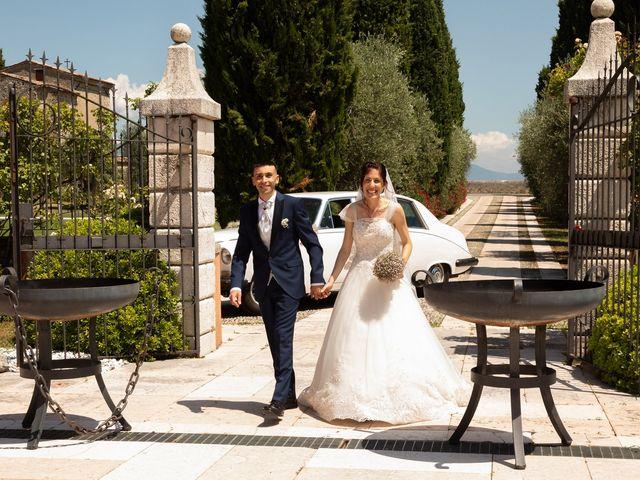 Il matrimonio di Jennifer e Paolo a Polpenazze del Garda, Brescia 30