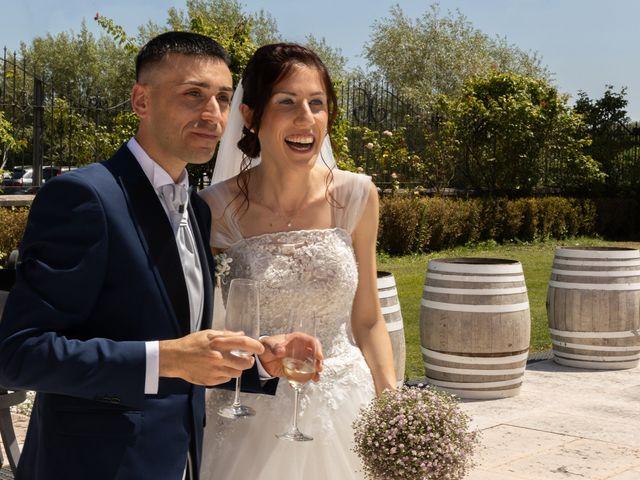 Il matrimonio di Jennifer e Paolo a Polpenazze del Garda, Brescia 31