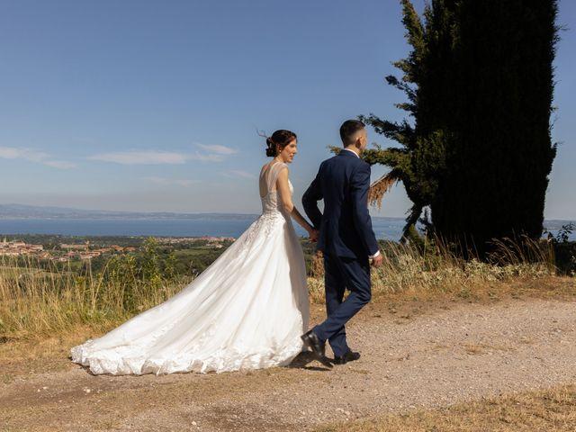 Il matrimonio di Jennifer e Paolo a Polpenazze del Garda, Brescia 33