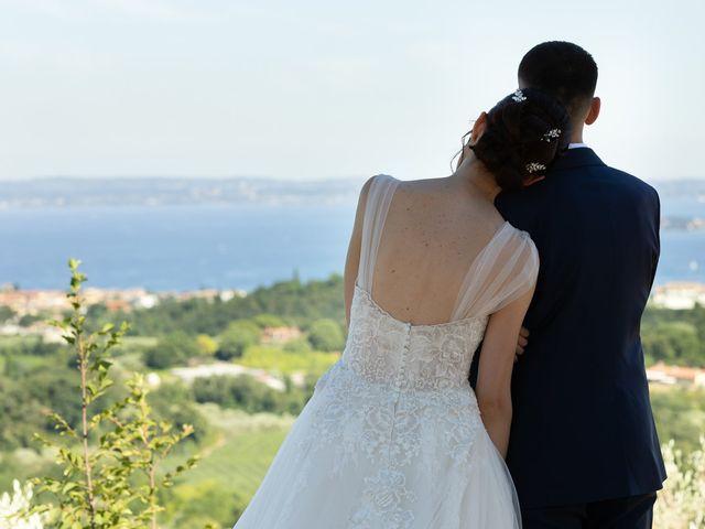 Il matrimonio di Jennifer e Paolo a Polpenazze del Garda, Brescia 34