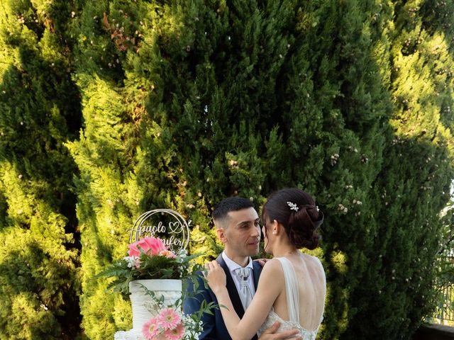 Il matrimonio di Jennifer e Paolo a Polpenazze del Garda, Brescia 41