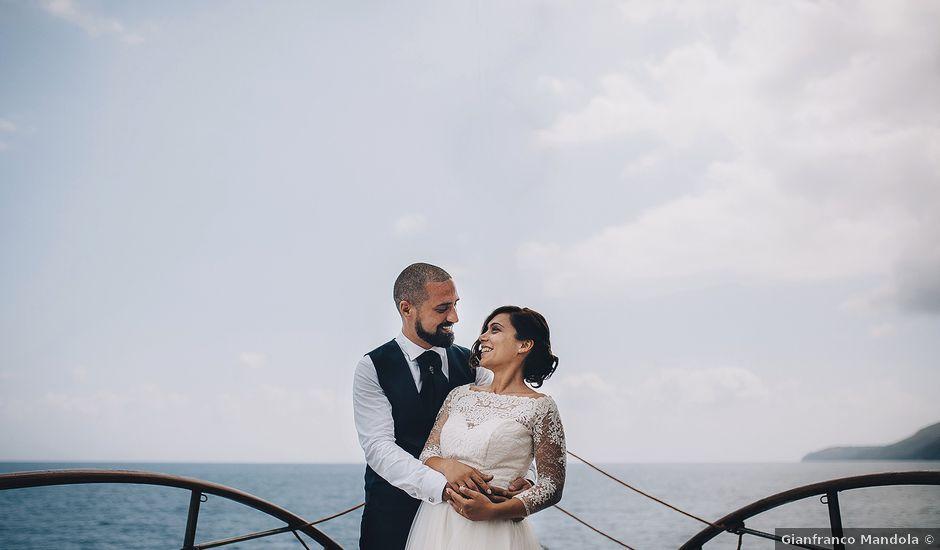 Il matrimonio di Alessandro e Francesca a Sapri, Salerno