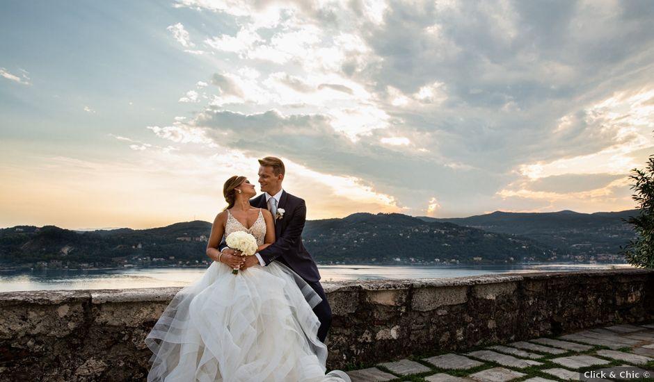 Il matrimonio di Maura e Riccardo a Angera, Varese