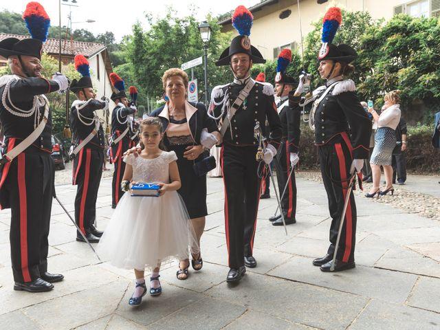 Il matrimonio di Davide e Valentina a Piossasco, Torino 49