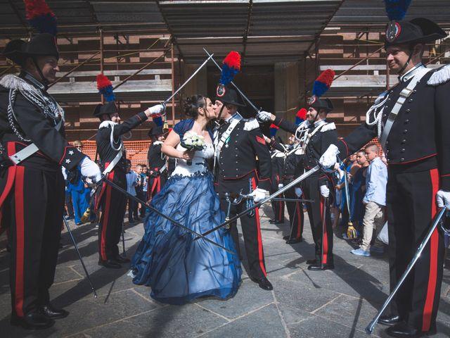 Il matrimonio di Davide e Valentina a Piossasco, Torino 77