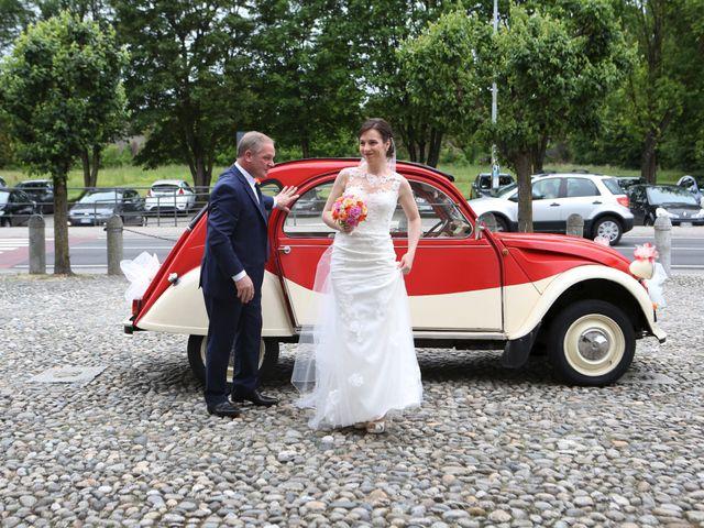 Il matrimonio di Roberto e Elisabetta a Sesto Calende, Varese 6