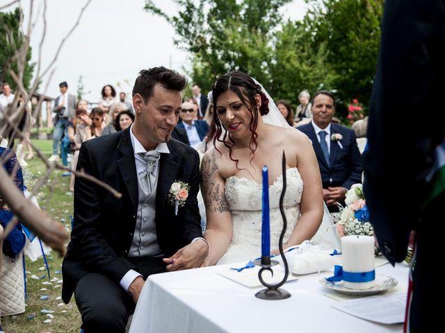 Il matrimonio di Alan e Deborah a Rubiera, Reggio Emilia 22
