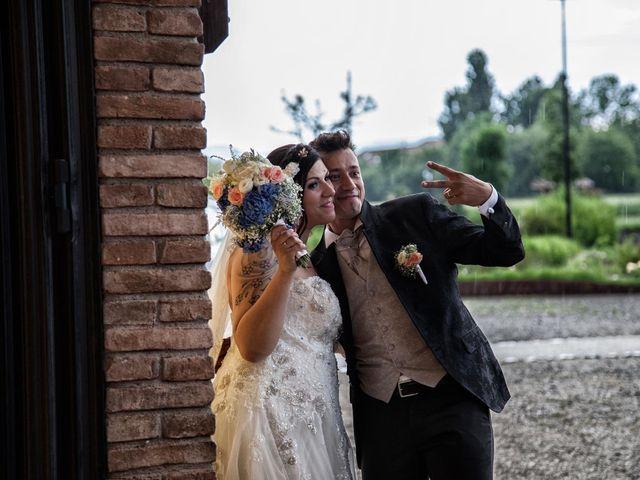 Il matrimonio di Alan e Deborah a Rubiera, Reggio Emilia 40