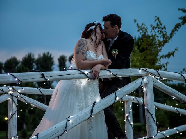 Il matrimonio di Alan e Deborah a Rubiera, Reggio Emilia 43