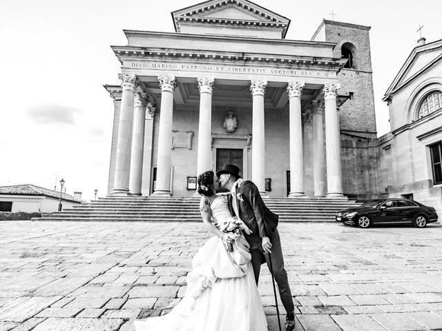 Il matrimonio di Matteo e Silvia a San Marino, San Marino 29