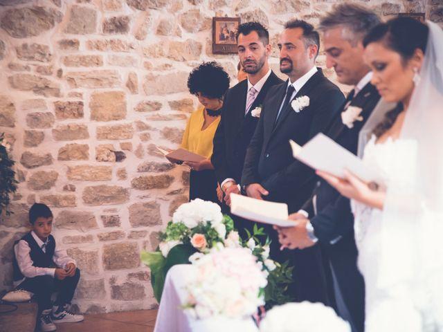 Il matrimonio di Nicky e Cleo a Castelpagano, Benevento 35