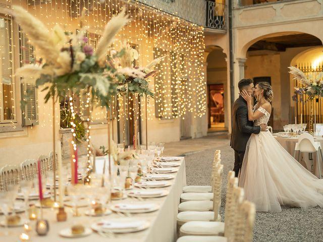 Il matrimonio di Davide e Carla a Varese, Varese 41