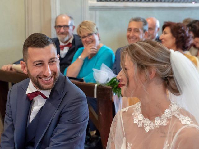 Il matrimonio di Marco e Carola a Cervesina, Pavia 31