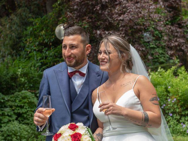 Il matrimonio di Marco e Carola a Cervesina, Pavia 36