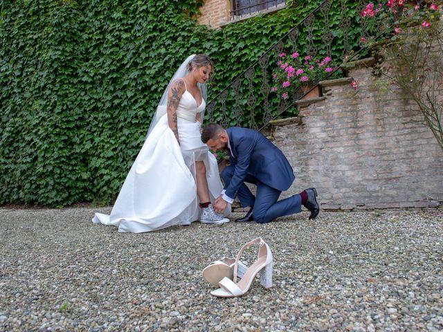 Il matrimonio di Marco e Carola a Cervesina, Pavia 40