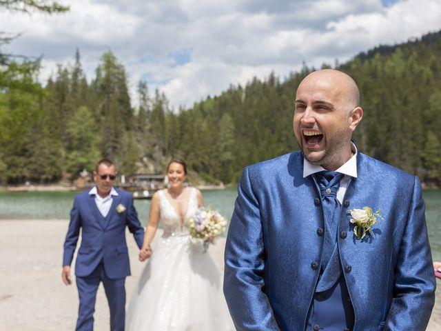 Il matrimonio di Giorgio e Elena a Braies-Prags, Bolzano 6
