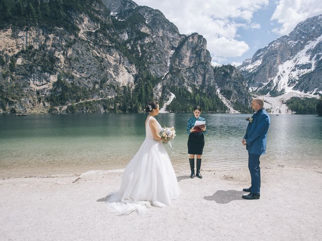Il matrimonio di Giorgio e Elena a Braies-Prags, Bolzano 8