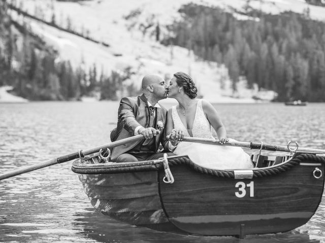Il matrimonio di Giorgio e Elena a Braies-Prags, Bolzano 11