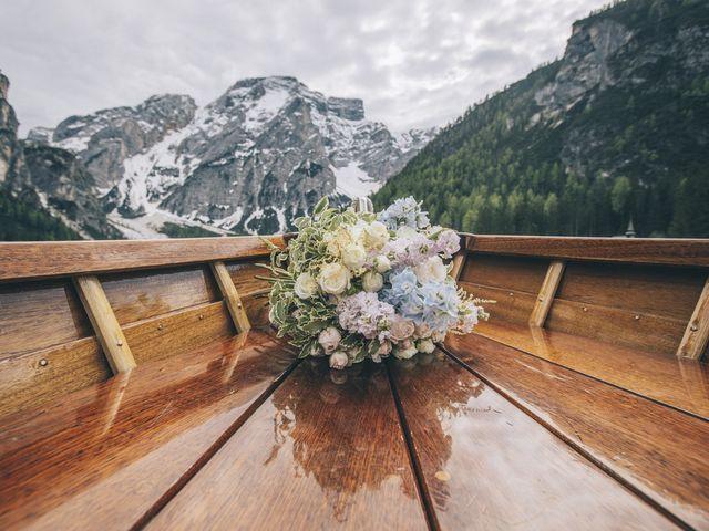 Il matrimonio di Giorgio e Elena a Braies-Prags, Bolzano 12