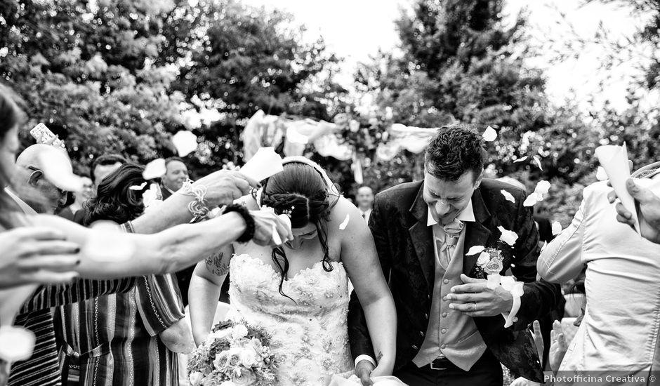 Il matrimonio di Alan e Deborah a Rubiera, Reggio Emilia