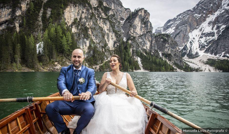Il matrimonio di Giorgio e Elena a Braies-Prags, Bolzano