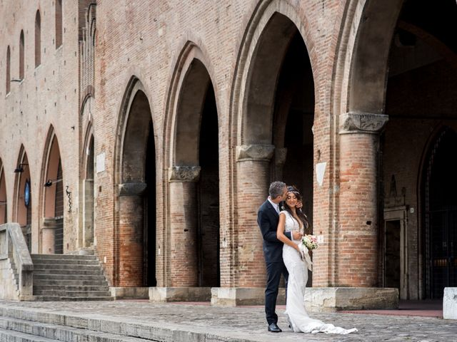 Le nozze di Manuela e Stiven