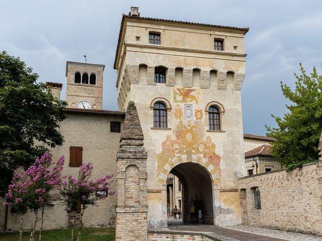 Il matrimonio di Domenico e Silvia a Sesto al Reghena, Pordenone 6