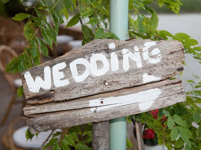 Il matrimonio di Andrea e Franceileen a Capolona, Arezzo 1
