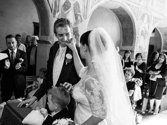 Il matrimonio di Andrea e Franceileen a Capolona, Arezzo 11