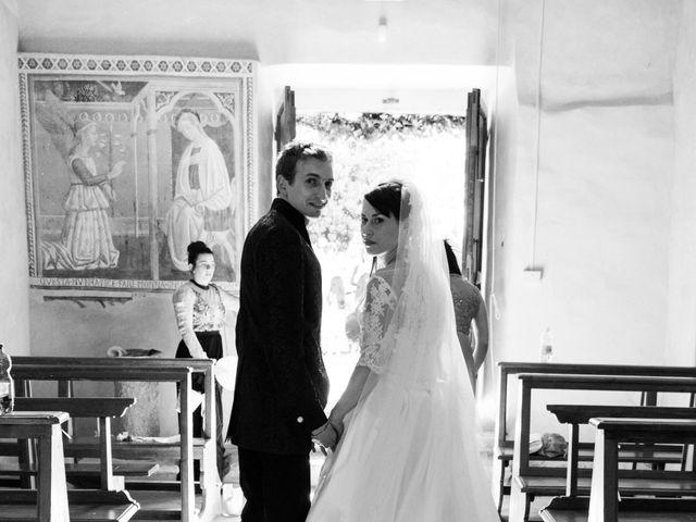Il matrimonio di Andrea e Franceileen a Capolona, Arezzo 12