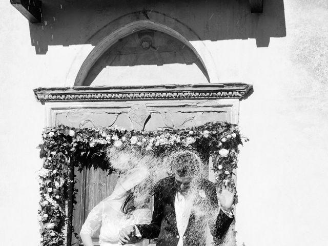 Il matrimonio di Andrea e Franceileen a Capolona, Arezzo 13