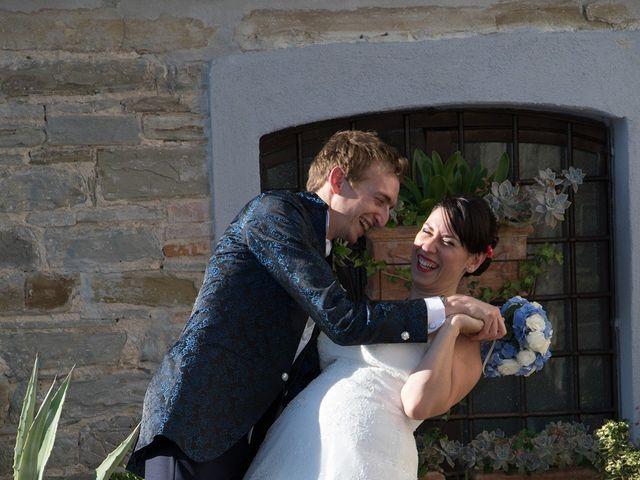 Il matrimonio di Andrea e Franceileen a Capolona, Arezzo 14