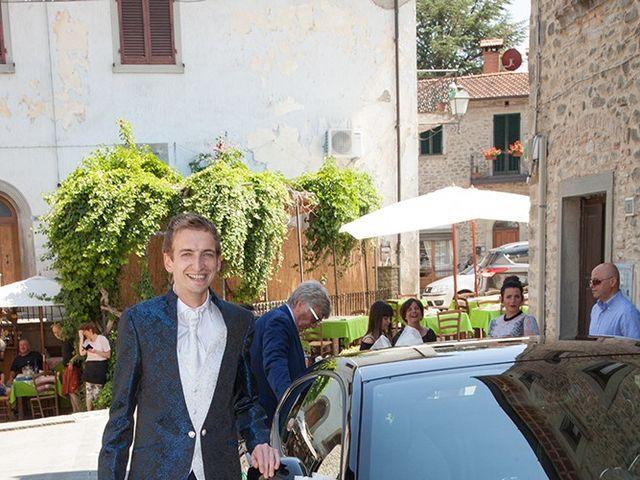 Il matrimonio di Andrea e Franceileen a Capolona, Arezzo 20