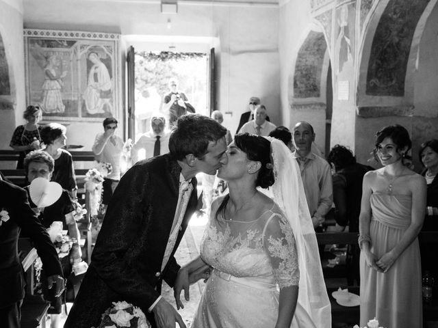 Il matrimonio di Andrea e Franceileen a Capolona, Arezzo 21