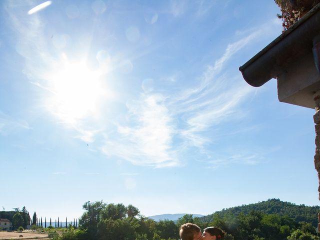Il matrimonio di Andrea e Franceileen a Capolona, Arezzo 22
