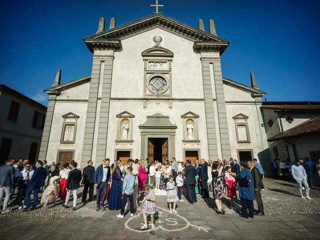 Il matrimonio di Simone e Sabrina a Bergamo, Bergamo 45