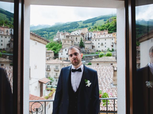 Il matrimonio di Michele e Antonella a Rocca Pia, L'Aquila 17