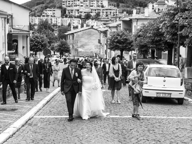 Il matrimonio di Michele e Antonella a Rocca Pia, L'Aquila 42