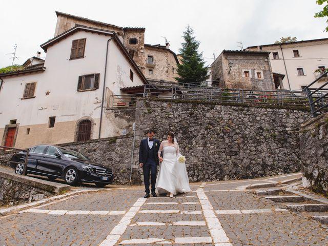 Il matrimonio di Michele e Antonella a Rocca Pia, L'Aquila 58