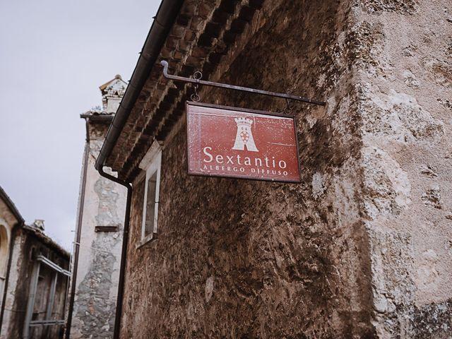 Il matrimonio di Rachele e Andrea a Santo Stefano di Sessanio, L'Aquila 9