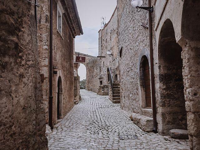 Il matrimonio di Rachele e Andrea a Santo Stefano di Sessanio, L'Aquila 49